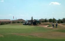 Arizona Golf Course; Sprigging